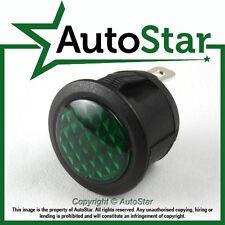 Green LED Warning Light 12v 12 volt Dashboard Panel Indicator Classic Car
