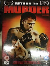 RETURN TO MURDER ~ 2011 Thai Boxing / Martial Arts Film | UK DVD with Slipcover