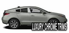 Acura ZDX Stainless Steel Chrome Pillar Posts by Luxury Trims 2010-2013 (8pcs)