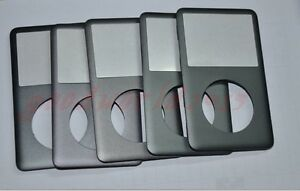 5pcs Grey Gray  Front Faceplate Housing  Cover  for iPod 7th Classic Thin 160GB