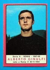 CALCIATORI PANINI 1967-68-Figurina-Sticker - GINULFI - ROMA - Recuperata