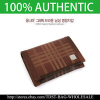 Omnia Korea  MEN/'S GENUINE LEATHER Business Card case MW615E