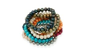 Genuine Fresh Water pearls Stretch Bracelet for Women- All Colors