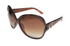 NEW GUESS GF 0266 52F Brown Gold Tortoise Womens SUNGLASSES w/ Case Authentic