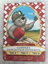 Disney Sorcerers of the Magic Kingdom Card #46, Gopher's Demolition Dynamite