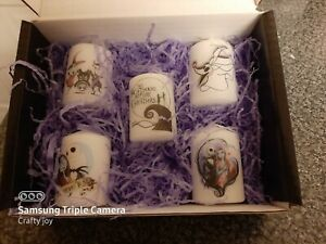 nightmare before christmas  votive candle set 1
