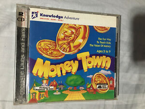 Money Town PC CD ROM Windows/MAC Ages 5-9 Ships Fast Same Day!
