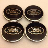 New 2014 Land Rover Black/Green Alloy Wheel Center Hub,Caps Set(4)Discovery 3.4