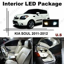 White LED Lights Interior Package Kit for Kia Soul 2011-2012 ( 7 Pcs )