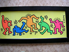 Keith Haring Poster Sonderedition autorisiert , Tänzer sign. im Druck