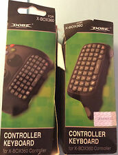 DOBE 2.4G Mini Wireless Chatpad Message Keyboard for Xbox360 TYX-517 LOT OF 2