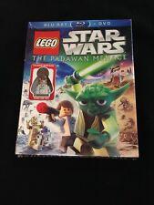 LEGO Star Wars: The Padawan Menace Blu-ray/DVD Combo Pack w/ Young Han Solo! NEW