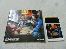 JAPAN IMPORT PC ENGINE HU CARD GAME SHANGHAI VOL 4 W MANUAL HE HUDSON SOFT 1987