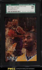 1996 Flair Showcase Row 0 Kobe Bryant ROOKIE RC #31 SGC 9 MINT
