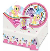 My Little Pony Arcoiris Pack de Fiesta {Mantel / Tazas /Platos/Servilletas } (