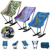 Portable Folding Beach Chair For Fishing Camping Gardening Drawing Fishing + Bag