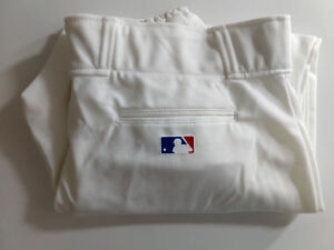 NEW Majestic MLB Adult/Youth Pro Style Baseball Pants Cuffed White Style 8574