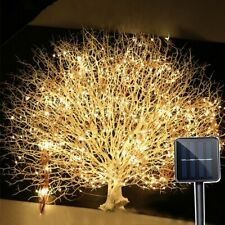 Branch String Fairy Light Led Vines Outdoor Garden Fence Tree Decoration Lamp