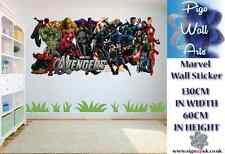 Marvel Pared Adhesivo Niños Dormitorio Pared Adhesivo Marvel Grupo Extra Grande