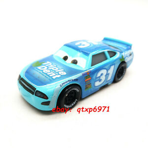 Disney Pixar Cars TERRY KARGAS #31 TRIPLE DENT Metal 1:55 Diecast Toys Loose New