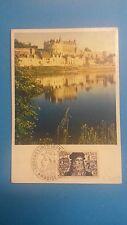 FRANCE PREMIER JOUR FDC YVERT 929 LEONARD DE VINCI CONGRES AMBROISE 30F 1952