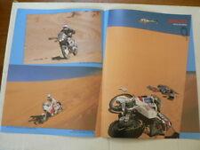A525-PARIS-DAKAR MOTOCROSS MX POSTER 1989 ? GILLES LALAY,PICCO,MEA