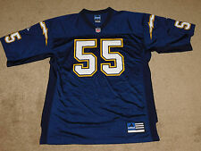 ADIDAS JUNIOR SEAU #55 SAN DIEGO CHARGERS JERSEY - Size 52 (New Without Tags)