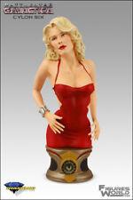 Art Asylum Battlestar Galactica Six Bust.Red Dress