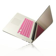 "PINK Silicone Keyboard Cover for NEW Macbook Pro 15"" A1398  with Retina display"