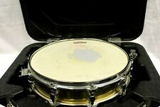 Percussion Plus CB700 Brass 3.5 x 13 Inches Piccolo Snare Drum W Hard Case