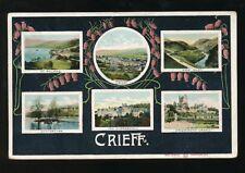 Scotland Perthshire CRIEFF M/view PPC Used 1907