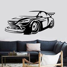 Spoiler Sportcar Car Auto  Wandtattoo Wallpaper Wand Schmuck 42 x 88 cm