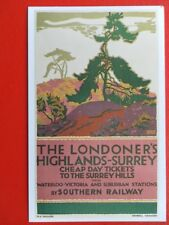 POSTCARD THE LONDONERS HIGHLANDS-SURREY - CHEAP DAY TICKETS TO THE SURREY HILLS