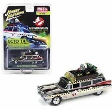JOHNNY LIGHTNING GHOSTBUSTERS  ECTO 1A 59 CADILLAC ELDORADO 1/64 CHROME JLCP7026