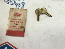 Nos Ford Tractor Conn 11603 C Ignition Key