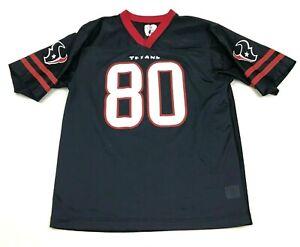 VINTAGE NFL Andre Johnson Houston Texans Football Jersey Youth Size XXL 18 Blue