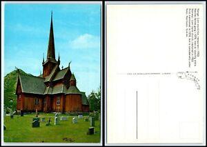 NORWAY Postcard - Lom Stave Church E11