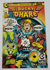 BUCKY O'HARE #1(1991) LARRY HAMA CONTINUITY COMICS