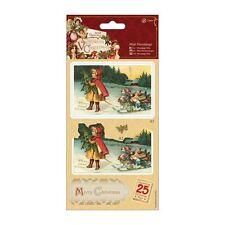 Papermania Mini Decoupage-Victoriano De Navidad-Niña
