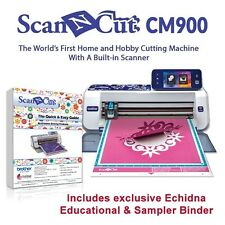 ALL NEW BROTHER SCAN N CUT CM900 + 2 BONUS MATS - BINDER - FREE SHIPPING