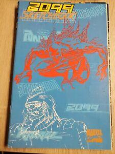 2099 Sketchbook FN Marvel Comic