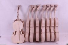 2x 4/4 Violin unfinished Flame Maple Spruce wood Unglue Violin Parts Maker