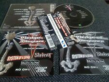 SYSTEM OF A DOWN ,SLIPKNOT / pledge of allegiance tour  / JAPAN LTD CD OBI