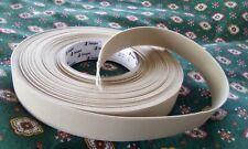 15m beige flat  elastic 25mm