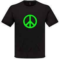 PEACE T Shirt S-XXL Mens Womens Love Harmony
