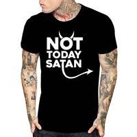 NOT TODAY SATAN Men Women Youth T Shirt Religious Funny Jesus Religion Faith Tee