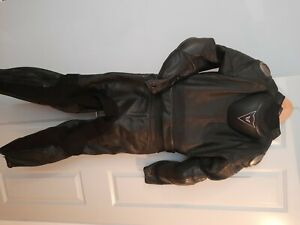 dainese ladies leathers 2 piece size 48