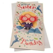 Harry Potter Birthday Card Sister