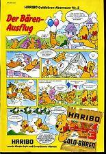 Haribo -- Goldbären aventure Nº 3 -- Bande dessinée -- publicité de 1979 --
