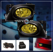 2006 2007 2008 HONDA CIVIC DX EX LX SI SEDAN 4DR BUMPER YELLOW FOG LIGHT+HARNESS